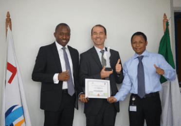 Total Nigeria Bags CSE Award 2013