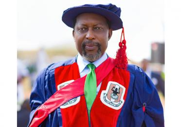 Total Nigeria Plc's Prince Jeff Nnamani is Honoured with a Doctorate Degree