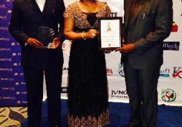 TOTAL NIGERIA PLC BAGS PEARL AWARDS MOST IMPRESSIVE COMPANY!