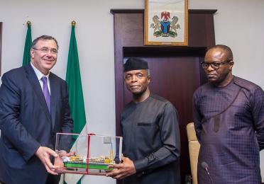 Pouyanne Visits Nigeria
