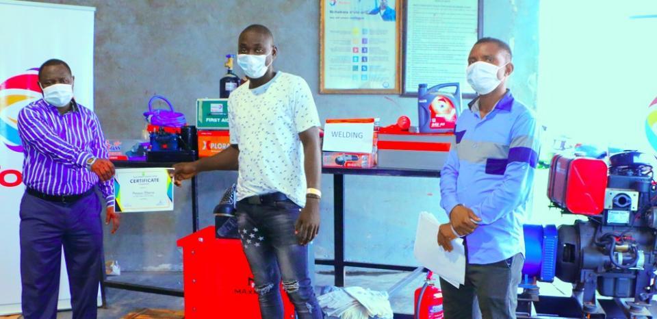 Joshua Omatshola – Marine Welding and Fabrication